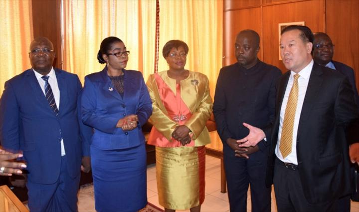 Gabon-Chine
