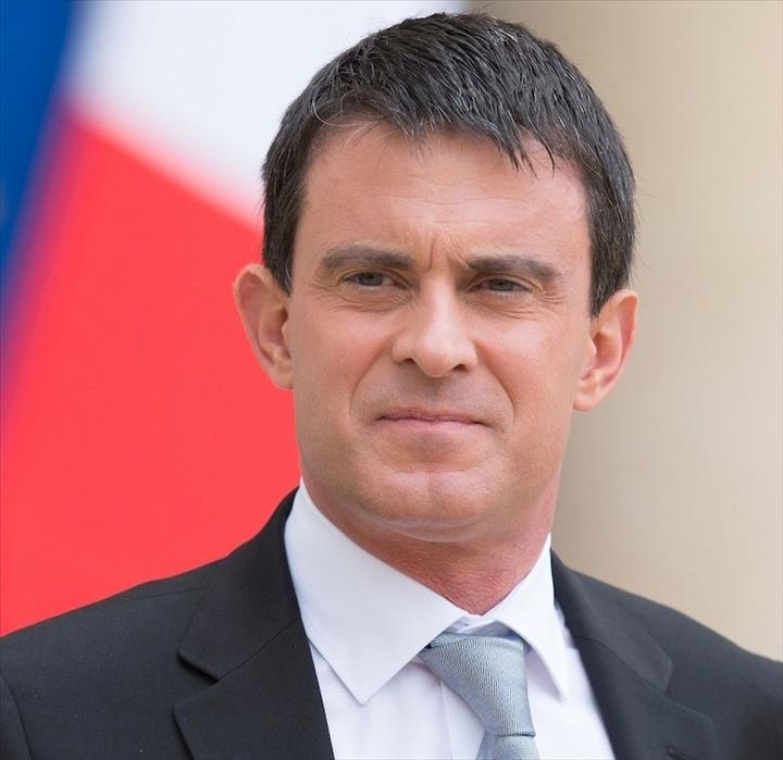 Manuel valls premier ministre fran ais alibreville photos for Ministre francais